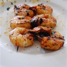 Spicy Grilled Shrimp...This Is My Favorite Recipe For Grilled Shrimp!!