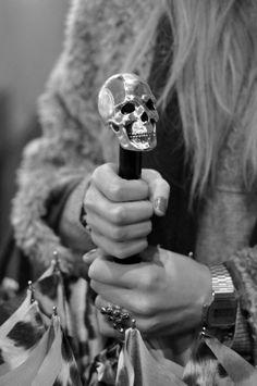 cool skull handle