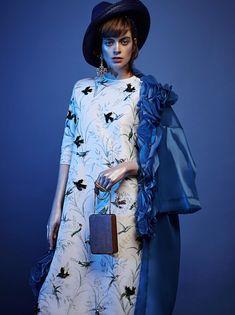 visual optimism; fashion editorials, shows, campaigns & more!: antonia wilson by rama lee for harper's bazaar kazakhstan february 2015