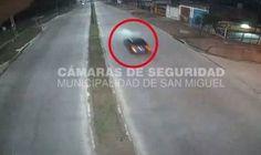 Gran aporte de la Policía Municipal de San Miguel para hallar al auto de la picada mortal de Moreno
