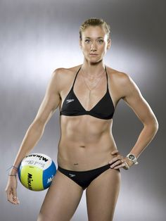 Kerri Walsh - if I was 1/10 of the vb player you are I'd be happy