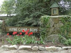 Alpine Camp for Boys  High atop Lookout Mountain  Mentone, AL  http://www.alpinecamp.com/