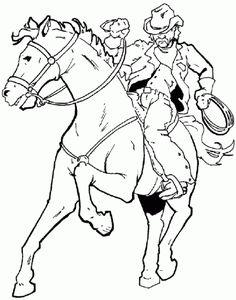 Cowboy 12 Ausmalbilder