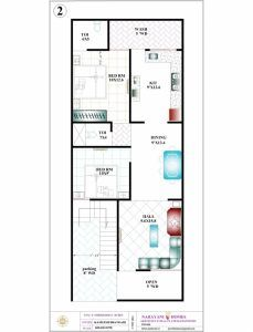Must See 15 By 45 House Plan House Design Plans 15 45 Duplex House Plan Pic House Floor Plan Ideas In 2020 20x30 House Plans New House Plans 20x40 House Plans