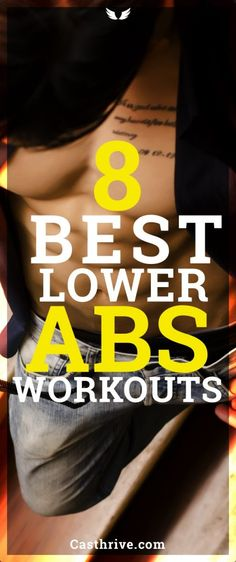 8 Best Exercises to Work Your Lower Abs Effective Belly Burn Exercises Do you know how to train your lower abs the right way? Many of us are looking for ways to get a flat stomach fast by performing specific exercises, but the truth of the matter is that Workout For Flat Stomach, Best Ab Workout, Abs Workout For Women, Workout Abs, Workout Motivation, Best Lower Ab Exercises, Best Abdominal Exercises, Stomach Exercises, Abdominal Fat