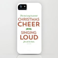 Christmas Cheer iPhone & iPod Case by itshueilove - $35.00