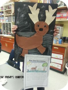 The Teachers' Cauldron: Reindeer writing