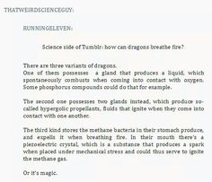 How can dragons breathe fire? - ThatWeirdScienceGuy