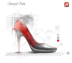 Frames and posters for corporative image on Bata factory Chile Sketch Inspiration, Design Inspiration, Basic Sketching, Shoe Sketches, Industrial Design Sketch, Sketch Design, Sock Shoes, Transportation Design, Beautiful Shoes