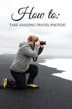 How to take unique travel photos