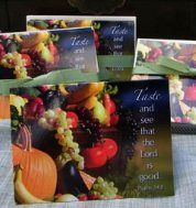 Designed Healthy Living, Taste and See That the Lord is Good! - Note Cards $5.00