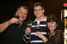 Cheers!  Grape Finale Winemaking School in Flemington, NJ.  #GrapeFinale  www.GrapeFinale.com