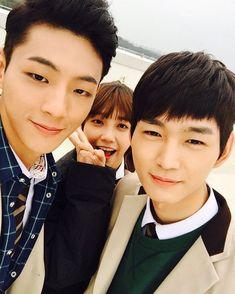jisoo, jung eun ji and lee won geun