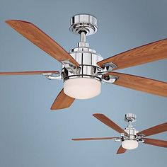 Home Decorators Collection Brette 23 In Led Indoor Outdoor Brushed Nickel Ceiling Fan Brushed