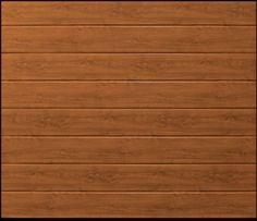 Garador Linear Medium Premium Golden Oak Garador Sectional Doors Steel   The Garage Door Centre