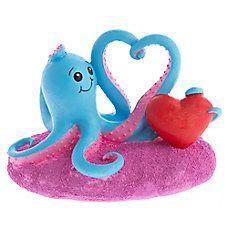 Top Fin® Valentine's Day Octoheart Aquarium Ornament