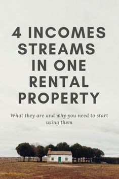 Dec 2019 - How you can make four streams of income with one rental property. Stack all of these together and see how real estate is the one of the best investments you can make to create wealth and passive income. Real Estate Business, Real Estate Investor, Real Estate Marketing, Real Estate Rentals, Real Estate Tips, Income Property, Investing In Property, Investing In Real Estate, Buying A Rental Property