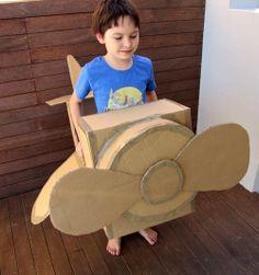 Crafty Cardboard Plane Idea