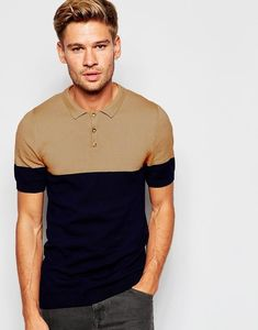 Discover men's polo shirts with ASOS. Shop from a range of polo shirt styles, from plain to striped to long sleeved shirts for men. Polo Shirt Style, Polo Shirt Outfits, Polo Outfit, Polo T Shirts, Men's Outfits, Camisa Polo, Polo Design, Tennis Shirts, Poses References