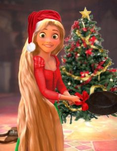 They need to make a tangled Christmas short! <<< I'd watch that!