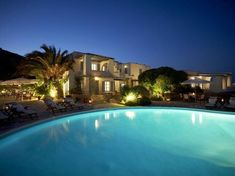 Naxos - family friendly hotel for the week before?