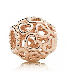 Official Pandora Rose Open Your Heart Charm 780964 from The Jewel Hut. Highest rated Pandora retailer - shop our gorgeous collection. Pandora Charms, Pandora Sale, Cheap Pandora, New Pandora, Pandora Jewelry, Pandora Outlet, Pandora Rose Gold, Rose Gold Charms, Silver Charms