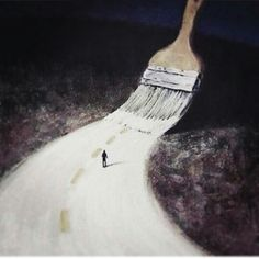 Paint yourself a path you would want to walk