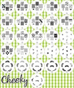 2012 Cheeky Set of 26 Nail Art Nailart Polish Stamp Stamping Manicure Image Plates Accessories Set Kit With Total of 160 Nail Art Designs Cheeky http://www.amazon.com/dp/B006OMHR1S/ref=cm_sw_r_pi_dp_oBPGub02X8HDC