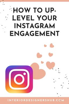 In our latest blog we take a look at how Interior Designers can maximise engagement on Instagram. Engagement is the first part of the Know... Like... Trust... process we teach Interior Designers to grow their client base. #interiordesignershub Interior Design Resources, Interior Design Business, Business Advice, How To Know, Trust, Designers, Training, Base, Marketing