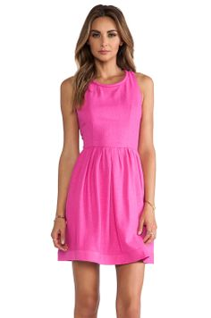 Harlyn Racer Back Mini Dress in Hot Pink $217