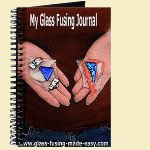 glass fusing projects, glass art crafts, picture frame pendant, glass donut, glass fusion projects