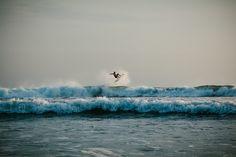 Wave jumping- Photo by Matt Chenet