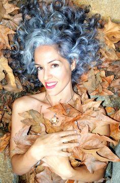 Sara Sophia Eisenman silver hair, fall colors <3  https://www.facebook.com/pages/Sara-Sophia-Eisenman/105609866243490?ref=hl