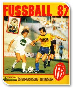 Fussball Osterreichische Bundesliga 1986-1987 Austria, Album, Baseball Cards, Sports, Football Soccer, Hs Sports, Sport, Card Book