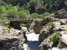 Frumosul traseu din Defileul Samaria în acest parc naţional mic