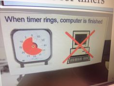 Timer Visuals Autism visuals classroom school