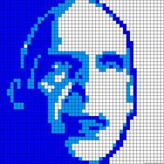 Voldemort  Harry Potter perler bead pattern