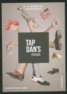 TAP DAN S FESTIVAL - WINTERTHUR - SWITZERLAND 2016 - ORIG. FLYER   eBay