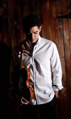 Arnaud Sussmann, violinist   publicity still