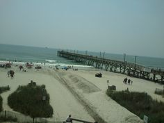 The view from River City Cafe in Surfside Beach, SC