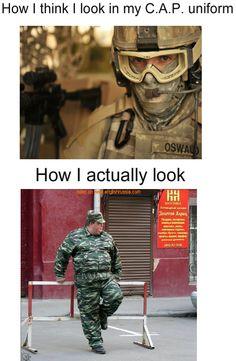 Civil Air Patrol uniforms, you suckk