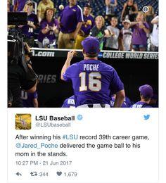 (2017) Lsu Alabama, Lsu Tigers Baseball, Who Dat, All Things Purple, New Orleans Saints, Louisiana, College, Awesome, Sports