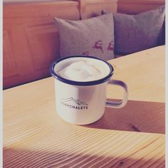 Enjoy coffee in style ☕️ New coffeemachines & Dorfchalets mugs in all chalets and apartments! Apartments, Coffee Mugs, Tableware, Home, Style, Chalets, Kaprun, Cottage House, Swag