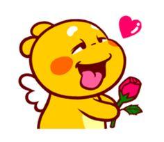 QooBee Agapi ~ LOVE by Anismart sticker #11733011