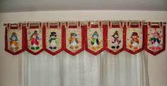 Resultado de imagen para motivos navideños para pintar en cenefas y ventanas