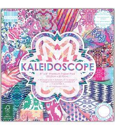 Trimcraft First Edition 48pcs 8''x8'' Premium Paper Pad-Kaleidoscope
