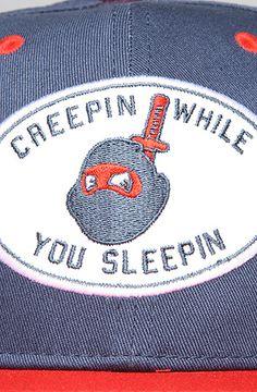 RockSmith  The Don't Sleep Snapback Hat in Navy