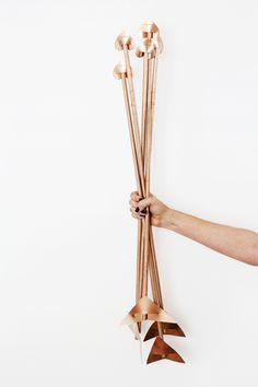 DIY Copper Arrows