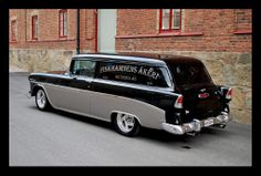 Chevy Nomad, Car Station, Old Muscle Cars, Old Wagons, Chevy Classic, Panel Truck, American Classic Cars, 1955 Chevrolet, Diesel Trucks