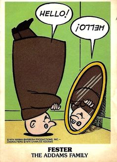 1974 Wonder Bread/Hanna Barbera Addams Family trading cards